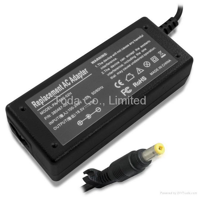 惠普hp/康柏compaq笔记本电源适配器