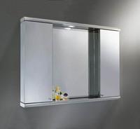 雙門帶燈多用鏡櫃