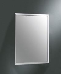 亮面不锈钢包边浴室镜