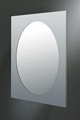 亮面不锈钢包边浴室镜 2