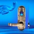 fingerprint door lock#6600-98  3