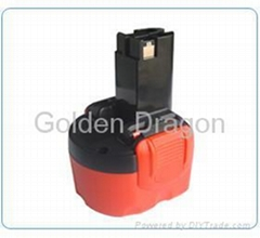 replacement battery for Bosch tools, 7.2V,GD-BOS-7.2(A)