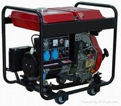 5kw air-cooled single cylinder diesel generator
