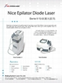 Hair removal diode laser