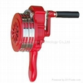 Hand operated home alarm