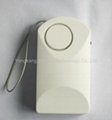 Portable Human Induction Antitheft Alarm