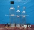 Square Shape Olive Oil Glass Bottles