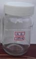 Glass Jar With Plastic Cap