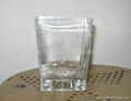 Clear Cylinder Glass Vase 2