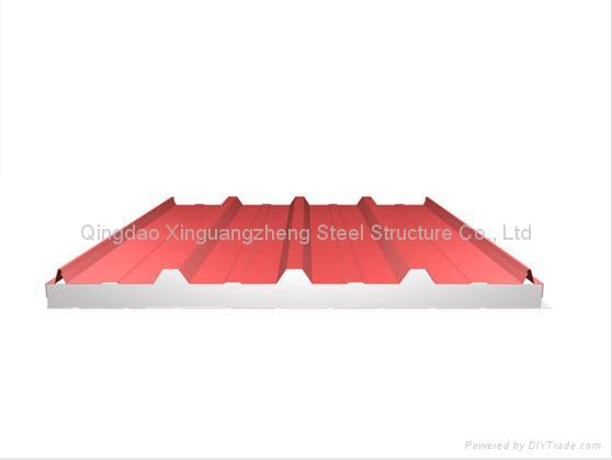 Sandwich Structured Composite : Sandwich panel roof sheet wall composite steel