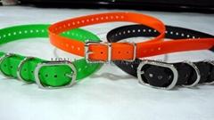 TPU pet  collar  - TPU training dog collar