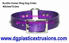 electrical pet collar and waterproof pet collar with DayGlo pet collar