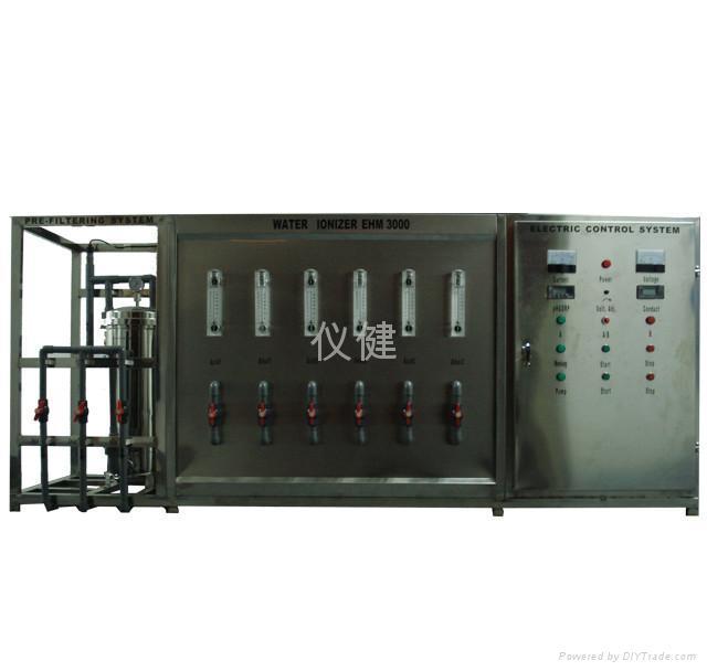 儀健工業用大型電解水機 ehm-3000 1