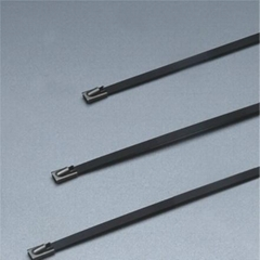 pvc coated 304 Stainless Steel Cable Ties