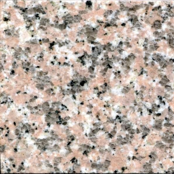 櫻花紅石材板材荒料路邊石 1
