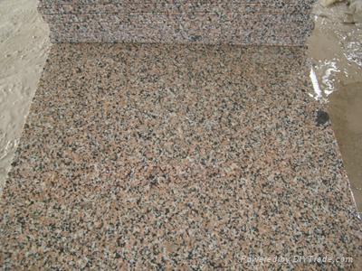 金沙黃石材板材荒料路邊石 2