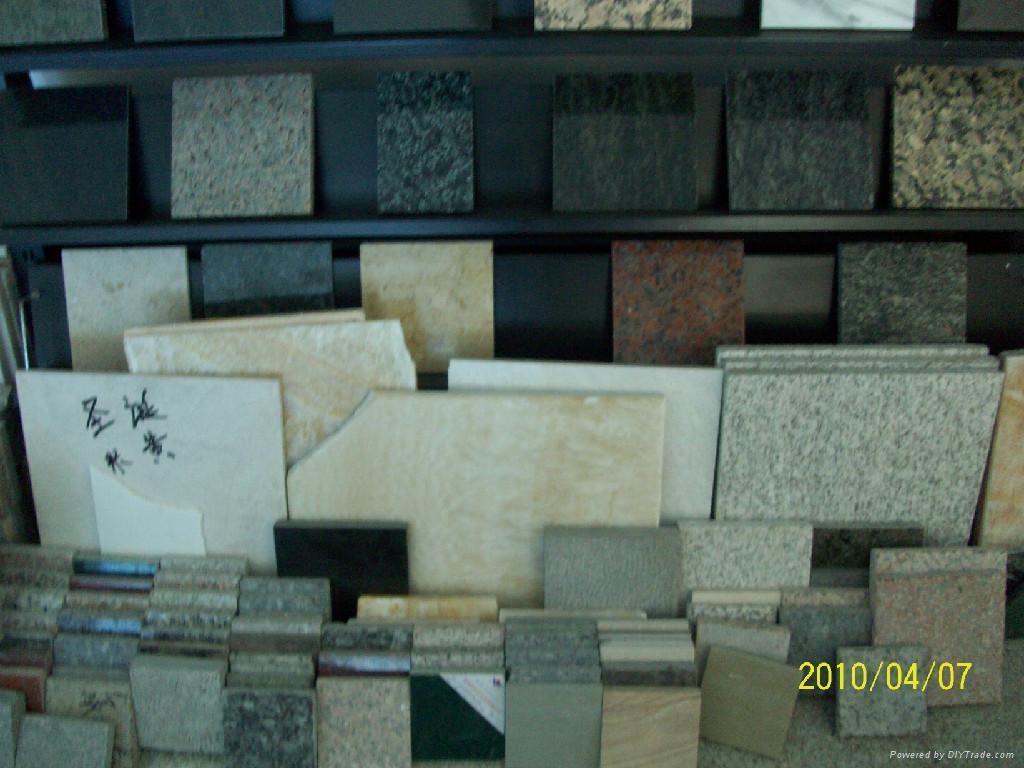 金沙黃石材板材荒料路邊石 4