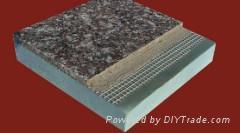 大理石花崗岩保溫復合一體板