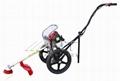 on wheel brush cutter grass trimmer