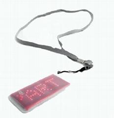 LED Scrolling Name Badge