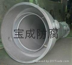 寶成鋼襯塑污水處理儲罐