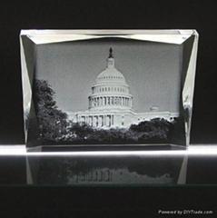 水晶內雕建築企業活動慶典辦公禮