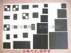 橡膠止滑墊-黑色橡膠膠墊-東莞橡膠