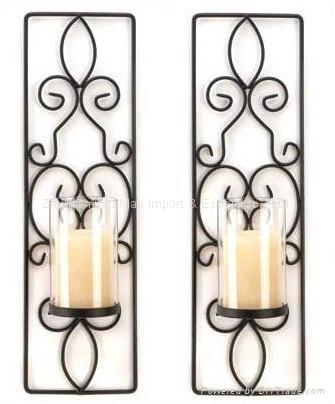 Wrought Iron Chandelier Wall Decor 49