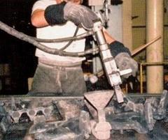 北京鑄件澆冒口分離器