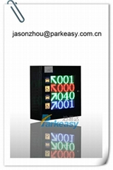 Parkeasy Parking Guidance System--Entrance LED Sign
