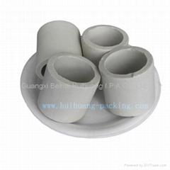 Acid-resistant ceramic ring tower packing