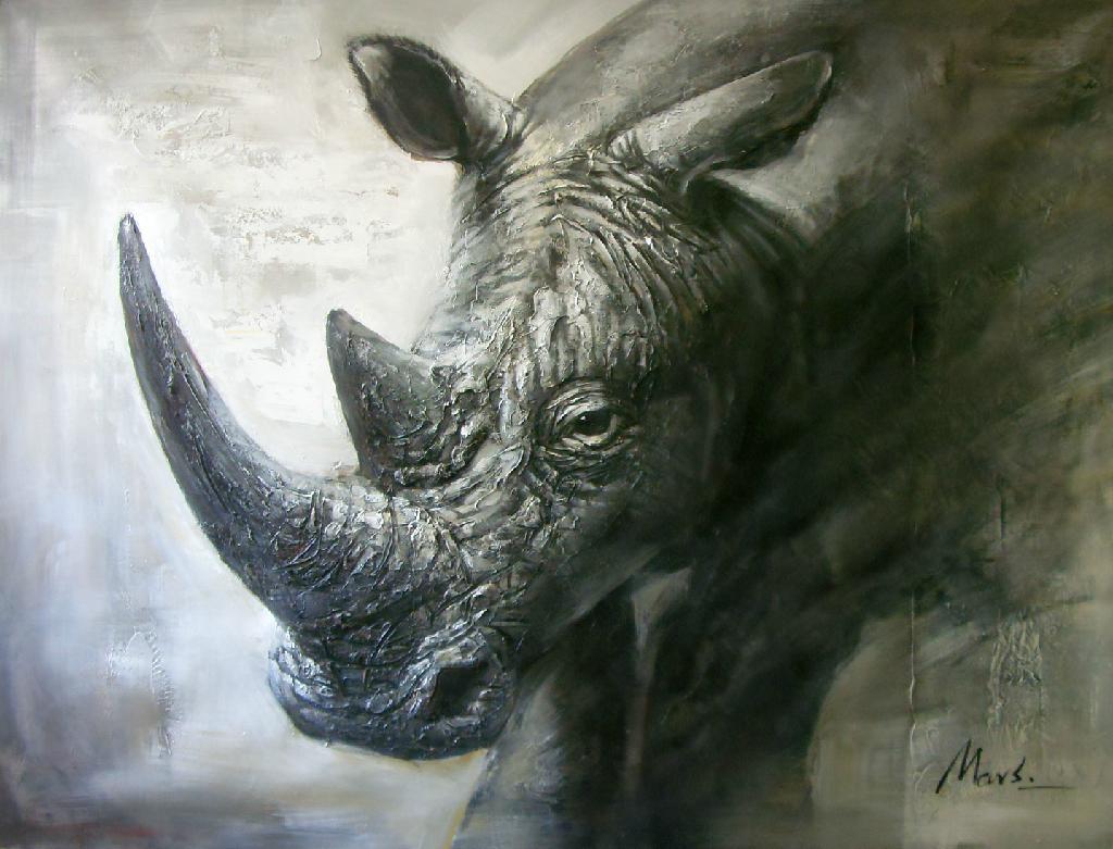 高清动物油画