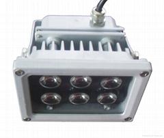 單顆集成光源100w氾光燈LED投光燈50w