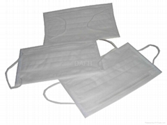 radiation-proof 3 ply disposable face mask with earloop ISO CE NELSON FDA approv