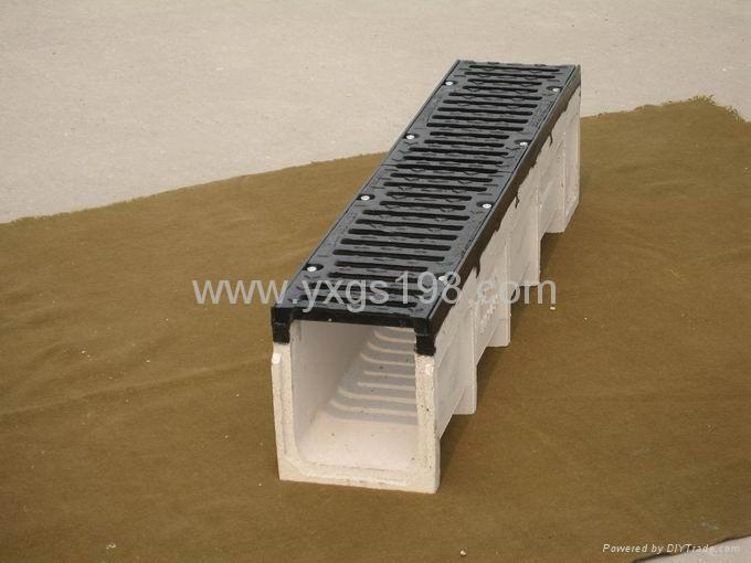 polymer concrete channel
