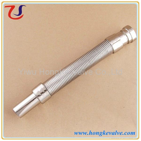 India chrome plated abs flexible drainage pipe china