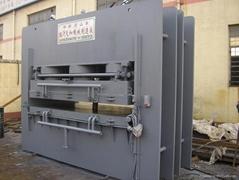 short cycle lamination press