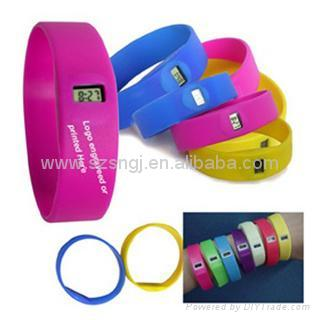 宽带硅胶手表 3