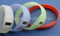 宽带硅胶手表 4