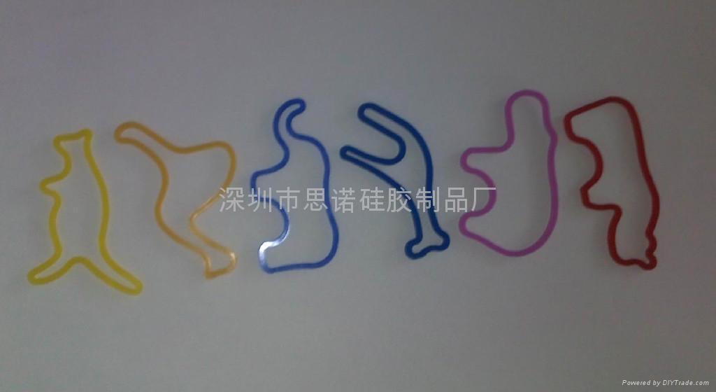 动物型硅胶橡皮筋 3