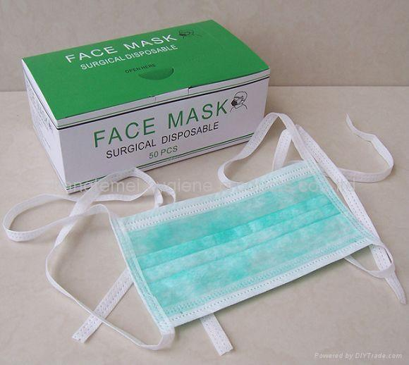 - Manufacturer Tie With Face china Mask Ktm-1002 Non Woven