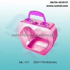 Jewelry box  accessories box  handle box