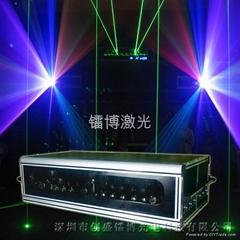 彩色激光平台