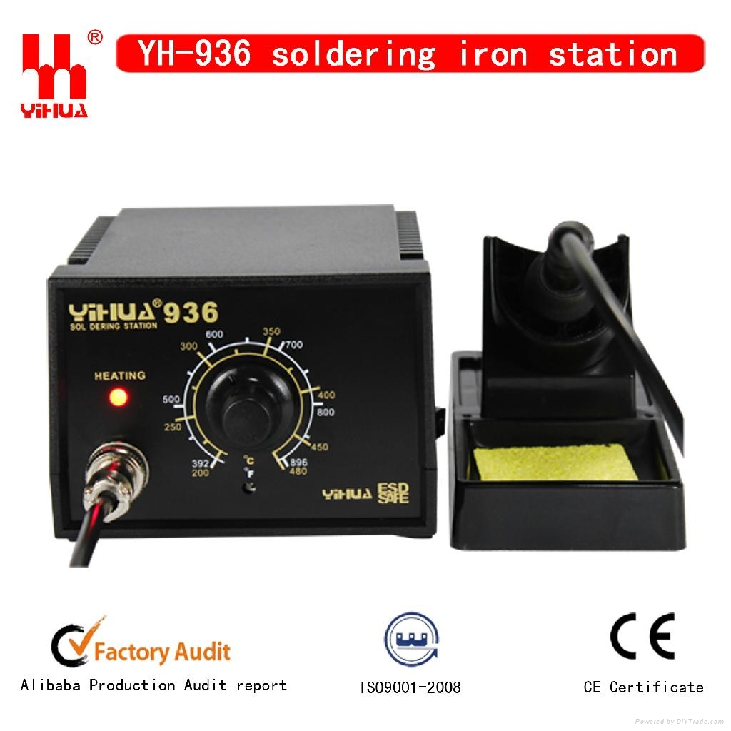 Constant temperature hot air soldering station YIHUA 936 1