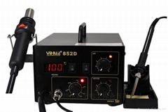 YH-852D (diaphragm pump) hot air smd rework station