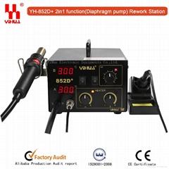 YIHUA 852D+(Diaphragm pump) Hot air rework station