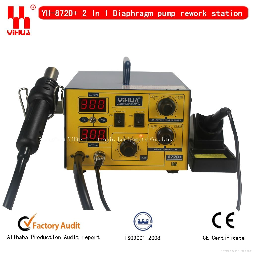 soldering station yihua 872d china manufacturer other electrical electronic electronics. Black Bedroom Furniture Sets. Home Design Ideas