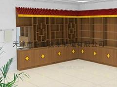 天津木质展柜