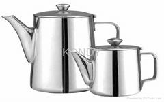 Medium Stainless Steel Pots