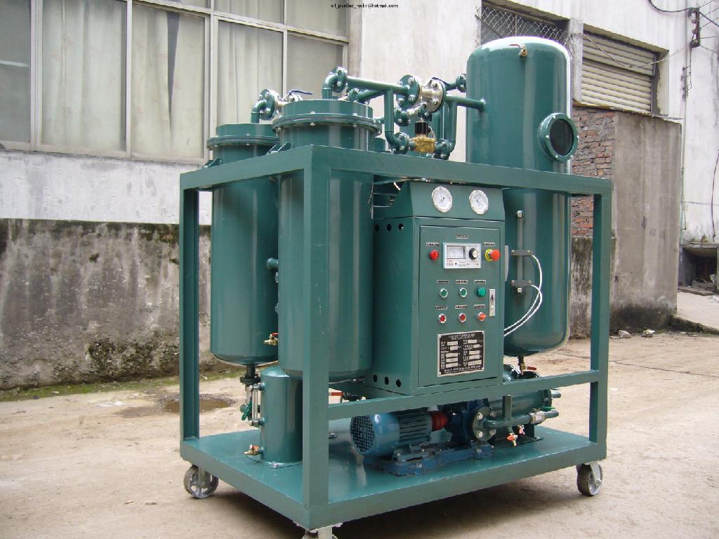 TY Vacuum Turbine Oil Purifier Filtration Purification 4